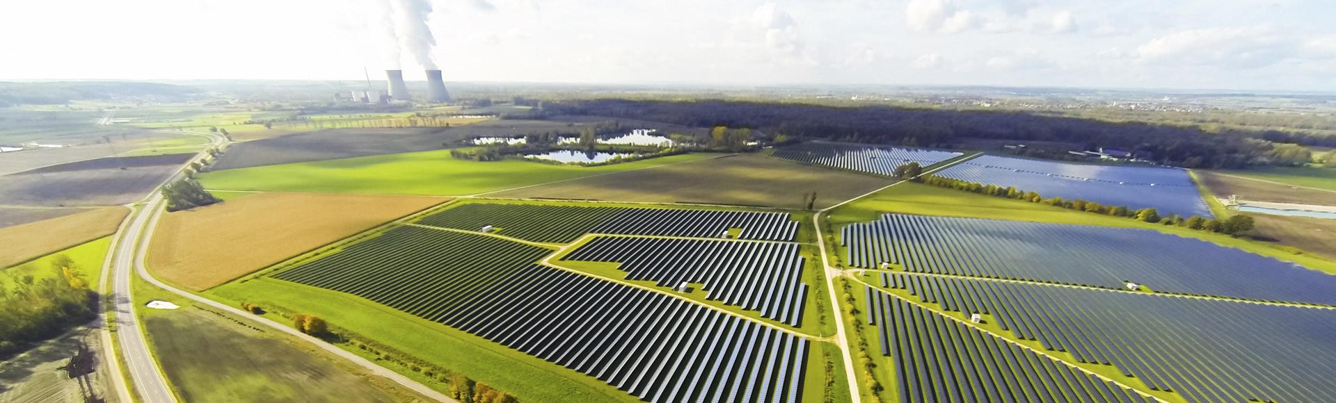 Mega-solar